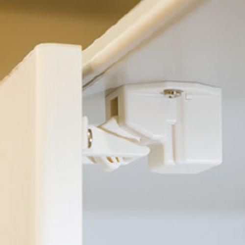 耐震パーフェクトロック 開き扉用 2個入 地震対策 耐震グッズ 地震対策用品 防災グッズ