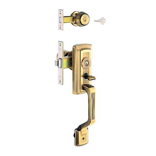朝日工業 Kシリーズ GOAL交換用特殊錠 GB-53 [玄関][三協アルミ・バックセット:64mm・フロント記号:AD(補助錠)、GF(本錠)]
