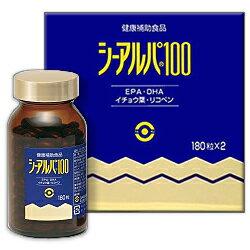 【送料無料の3個セット】【日水製薬】シーアルパ100 180粒×2本