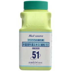 【第2類医薬品】【送料無料】【松浦漢方】半夏厚朴湯エキス細粒 500g※お取り寄せになる場合もございます