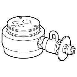 【送料無料】【パナソニック】食器洗い乾燥機用 分岐水栓 CB-SXA6 ☆家電 ※お取り寄せ商品