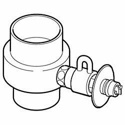 【送料無料】【パナソニック】食器洗い乾燥機用 分岐水栓 CB-SXD6 ☆家電 ※お取り寄せ商品