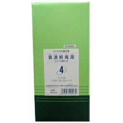 【第2類医薬品】【送料無料】【松浦漢方】黄連解毒湯エキス 細粒 2g×300包※お取り寄せになる場合もございます