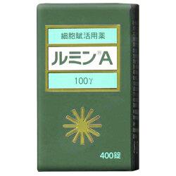 【第3類医薬品】【送料無料の2個セット】【森田薬品】ルミンA100γ 400錠