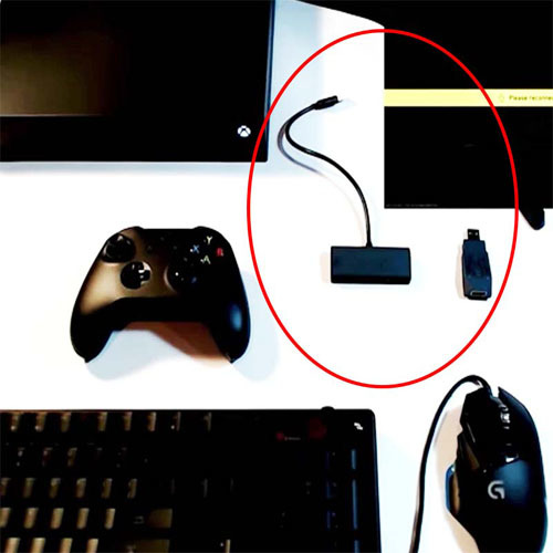 Mouse & keyboard converter (PS4/PS3/XboxOne/Xbox360 correspondence) for the  XIM APEX - game