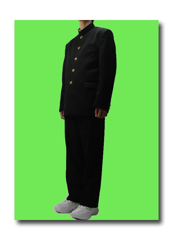 ★送料無料【日本製】【最高級品質】★標準型学生服上下セット★最高品質【ポリエステル】東レ日本生地使用【FR6(A体)上下】