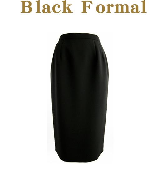 送料無料 !■【ブラックフォーマル】■どんな着こなしにも合うタイトスカート【9号~19号】(10-83040)