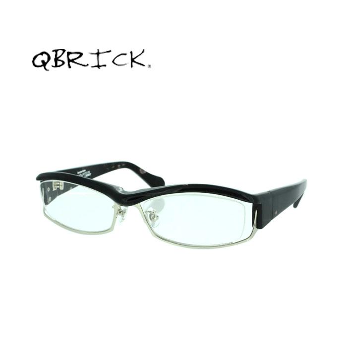 QBRICK キューブリック メンズ メガネ ブロー 新作続 BTY5004 Qbrick フレーム 伊達メガネ 度付き 送料無料 度なし おしゃれ bty5004 Spots 国内正規品 -サイズ:57 かわいい 超人気 Black
