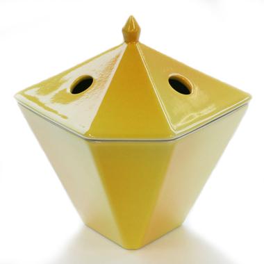 日本香寺 rim-由香里 [由香里] 香燃烧器黄色 *