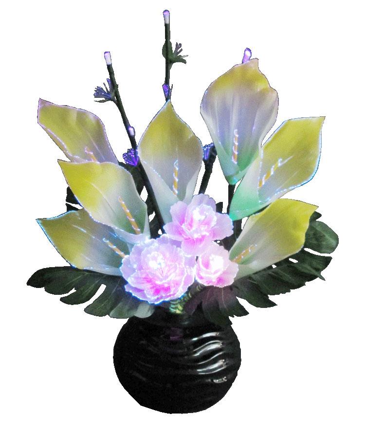 【送料無料】「ルミナス」カラー プラ製/P-6/高さ55cmLED・電気式【インテリア】【照明】【ライト】【LEDライト】*