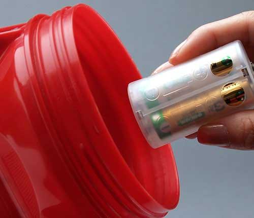 単3電池を単1電池に変換する電池スペーサー ADC-311 単品 2個入 単3が3個で単1になる電池アダプター ホワイト 超激得SALE 電池アダプター 電池スペーサー 定価 乾電池 スマイルキッズ 台風 アイデア 非常時 地震 水害 懐中電灯 非常灯 停電 充電池