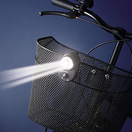 クリップで簡単装着 高輝度白色LED3灯の前かご用ライト サイクルライト 3LED前カゴクリップライト サイクル用品 予約 アイデア満載 本店 便利グッズ スマイルキッズ aku-4304 小物 グッズ 便利 プレゼント アイデア 商品 日用品雑貨