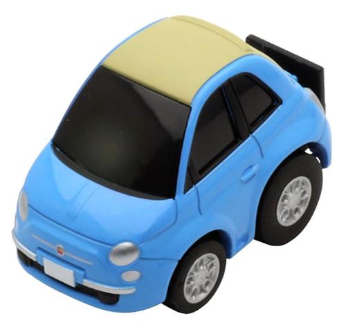 Choro Q Zero Fiat 500 C Blue