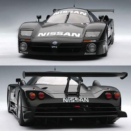 オートアート 1/18 日産 R390 GT1 1997 ルマン テストカー