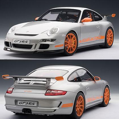 オートアート 1/12 ポルシェ 911 (997) GT3 RS シルバー