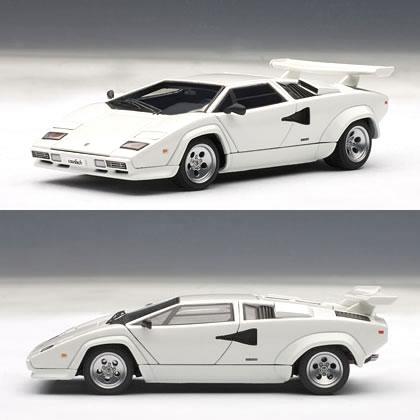 オートアート 1/43 ランボルギーニ カウンタック 5000S ホワイト