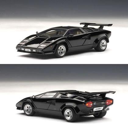 オートアート 1/43 ランボルギーニ カウンタック 5000S ブラック