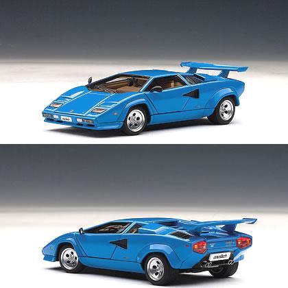 オートアート 1/43 ランボルギーニ カウンタック 5000S ブルー