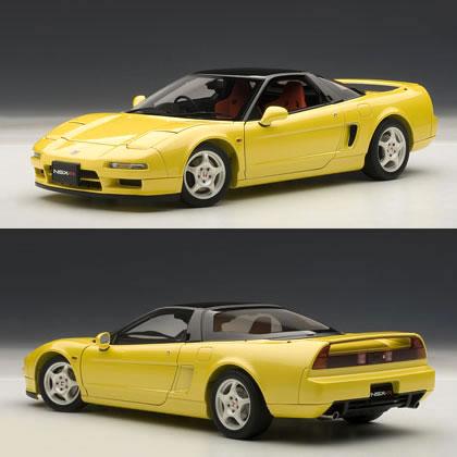 オートアート 1/18 ホンダ NSX タイプR 1992 インディ・イエローパール