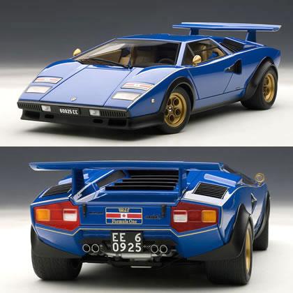 Car Hobby Shop Answer Autoart 1 18 Lamborghini Countach Walter Wolf