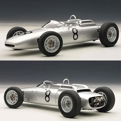 オートアート 1/18 ポルシェ 804 F1 No.8 ドイツGP 1962 (ヨアキム・ボニエ)