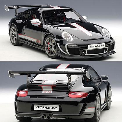 オートアート 1/18 ポルシェ 911 (997) GT3RS 4.0 ブラック
