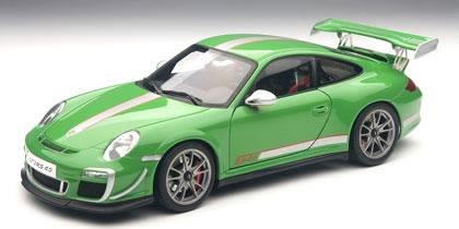 オートアート 1/18 ポルシェ 911 (997) GT3RS 4.0 グリーン