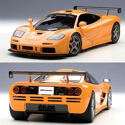 car hobby shop answer: autoart 1 / 18 orange mclaren f1 lm | rakuten