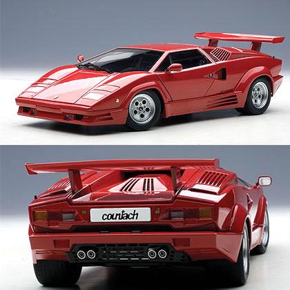 Car Hobby Shop Answer Autoart 1 18 Lamborghini Countach 25th