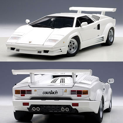 Car Hobby Shop Answer Autoart 1 18 Lamborghini Countach 25th