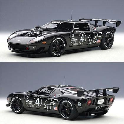 Autoart   Ford Gt Lm Spec Ii Test Car Carbon Black