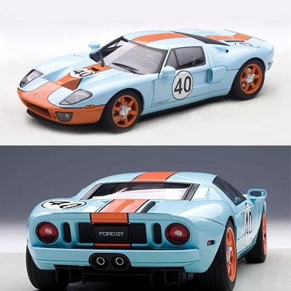 オートアート 1/18 フォード GT ガルフ・カラー No.40