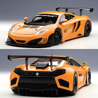 オートアート 1/18 マクラーレン MP4-12C GT3 プレゼンテーションカー オレンジ