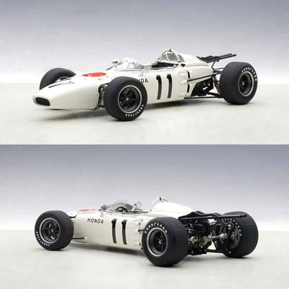 オートアート 1/18 ホンダ RA272 F1 No.11 メキシコGP 優勝車 1965