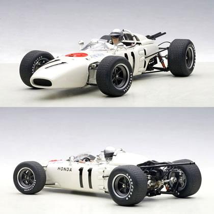 オートアート 1/18 ホンダ RA272 F1 No.11 メキシコGP 優勝車 1965 (ギンサーフィギュア付)