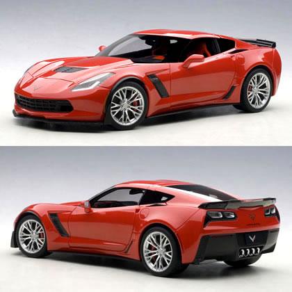 Autoart 1/18 (C7) Chevrolet Corvette Z06 Red