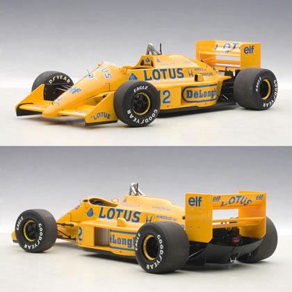 オートアート 1/18 ロータス 99T ホンダ F1 No.12 日本GP 1987 アイルトン・セナ