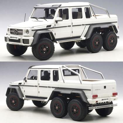 オートアート 1/18 メルセデス ベンツ G63 AMG 6x6 マット・ホワイト
