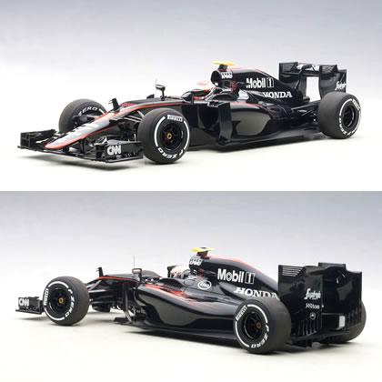 オートアート 1/18 マクラーレン MP4-30 ホンダ F1 No.22 スペインGP 2015 (ジェンソン・バトン)