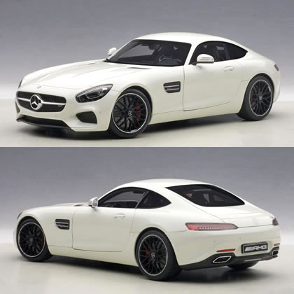 Automatic Art 1 18 Mercedes Amg Gt S White
