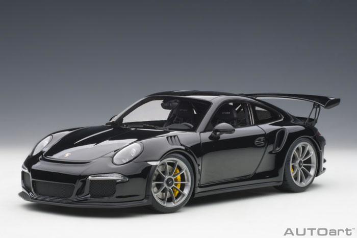 オートアート 1/18 ポルシェ 911 (991) GT3 RS ブラック