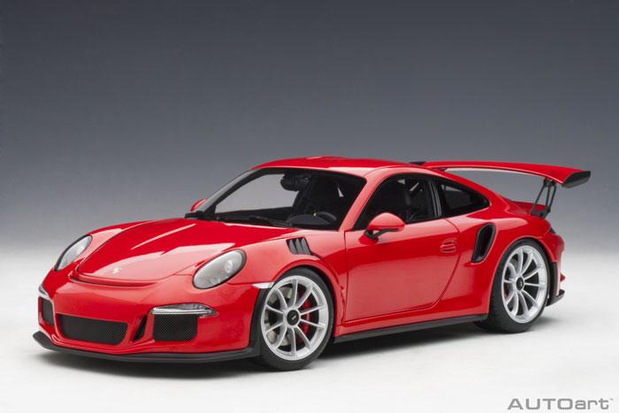 オートアート 1/18 ポルシェ 911 (991) GT3 RS レッド