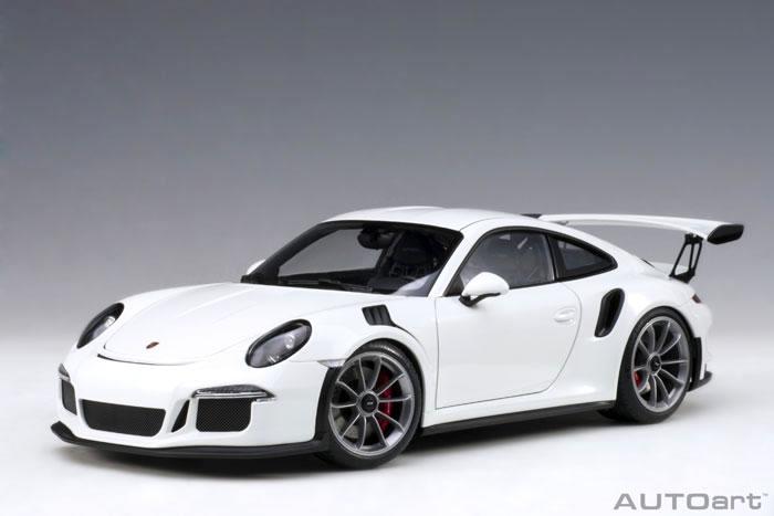 オートアート 1/18 ポルシェ 911 (991) GT3 RS ホワイト