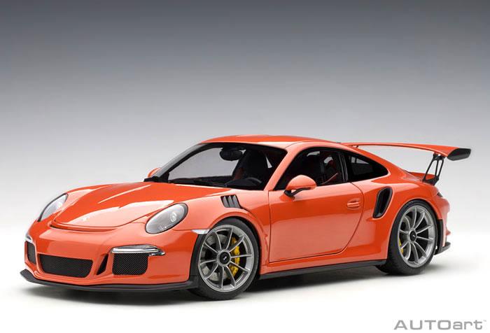 オートアート 1/18 ポルシェ 911 (991) GT3 RS オレンジ