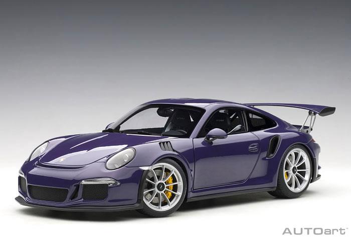 オートアート 1/18 ポルシェ 911 (991) GT3 RS バイオレット