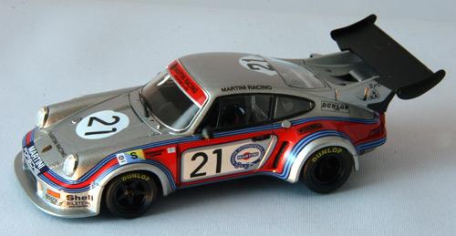 诶,浴缸1/43保时捷911 RSR涡轮No.21勒芒1974