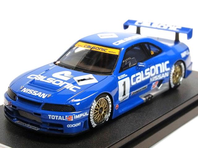 EBBRO×hpi racing コラボレーション 1/43 JGTC 1995 カルソニック スカイライン R33 No.1 菅生 (K.Hoshino /M.Kageyama)