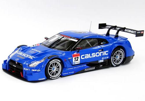 エブロ 1/18 スーパーGT 2014 CALSONIC IMPUL GT-R No.12 Rd.2 Fuji
