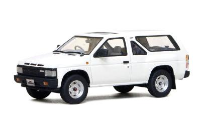 【絶版品】ハイストーリー 1/43 日産 テラノ 2ドア R3M 1986 ホワイト