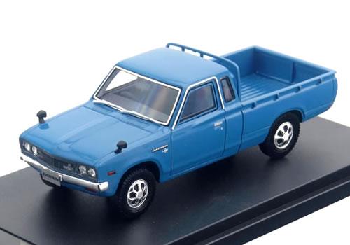 ハイストーリー 1/43 日産 ダットサン トラック カスタム DX・L 1979 ブルー